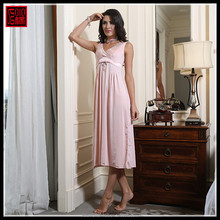 Good qualitiy OEM/ODM serivce pink lovely girl nighty kaftan sleepwear