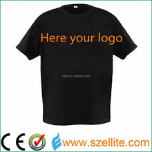 Nice choice for your own event party brand promotion item el t-shirt