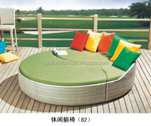 rattan garden sun bed hotsale indoor wicker sofa bed all over the world