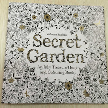 Fashionable Hot Promotion Adult Secret Garden Paper Printing Book
