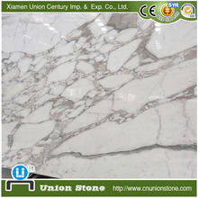 Italy Grey Vein Calacatta White Marble Tile