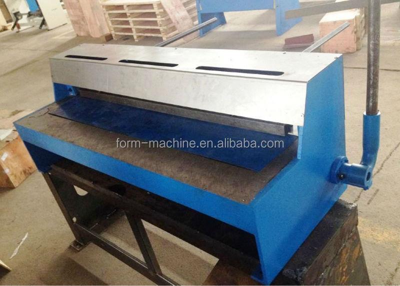 Guillotine Manual Metal Sheet Shear Metal Plate Guillotine