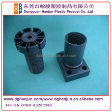 145mm Black plastic adjustable kitchen cabinet leg/leveling feet