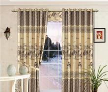 stripe blackout fabric yoniner popular yoniner hotel curtain fabric; hot sale 3cm strip print curtain