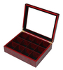 High quality lacquer wooden tea boxes wholesale
