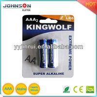 volta battery AAA alkaline battery LR03 AM-4 900mAh