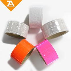 PVC Warning Reflective Tape 3M Adhesive For Safe Uniform