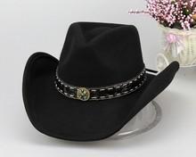 high quality 100% wool felt australian cowboy hat wholesale