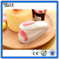 Hot sell household use hand portable mini plastic bag sealing machine/Pp bag sealing machine/mini snack sealing machine