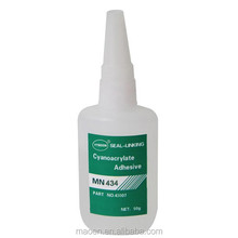 YTMOON high performance industrial super glue 434 for Pvc/plastic/rubber /leather bonding at good quality