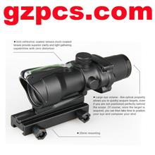 Hot sale trijicon style GZ10166 4X32 REAL fiber acog scope