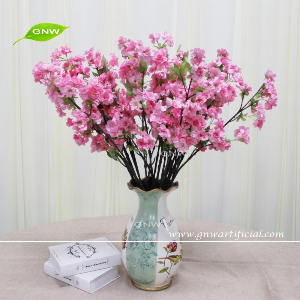 Gnw Blb Ch1605018 Cheap Light Pink Artificial Cherry Blossom Flower