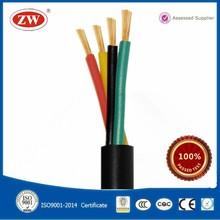 Copper Core PVC Insulation Sheath Round Flexible Wire rvv power cable