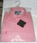 100% algodão manga comprida Homens camisas