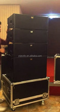 """High Power Compact Double 8"""" Professional Line Array"""