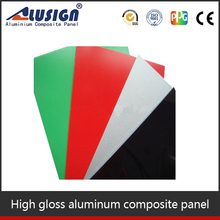 Alusign different types of signboard decorative plastic brick wall acp