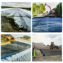 road pavement reinforcement PP geogrid rolls