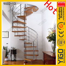 cast iron indoor spiral stair railings/spiral stairs sale