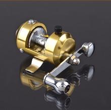 New technology Mini Baitcasting fishing reel for pen rod