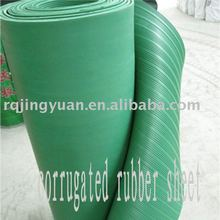 green corrugated rubber products