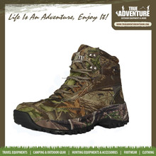 True Adventure TA2-006 High Quality Unisex Camping Boots Outdoor Army Boots Camouflage Hiking Shoes for Men