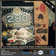 280 diseños animales del dedo tatuaje temporal / de los cabritos de Halloween etiqueta engomada del tatuaje
