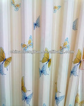 China lined cafe curtains