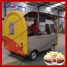 Popular street mobile electric food vans