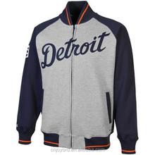 Unique Design Widely Used Reasonable Price Baseball Jacket Leather Sleeves