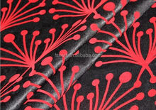 100%Polyester Flocking Italy Velvet for shawl for sofa