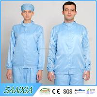 Clean room antistatic suit ESD Smock