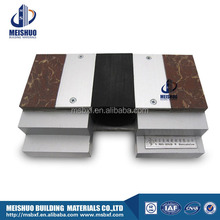 factory surface mount extruded aluminum rubber expansion joints in timber floors