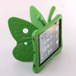 Fashion Kids EVA Foam Soft Stand protective shockproof phone case for ipad 2 3 4