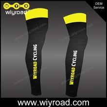 Accept sample order custom cycling leg sleeve/custom made cycling leg warmers/pro team bike leg warmer with very good price