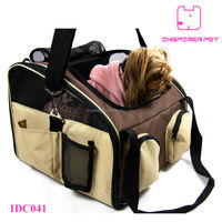 Pet Car Booster Seat Folding Dog Carrier