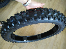 Qingdao top quality rubber motorcycle tyre 90/100-21