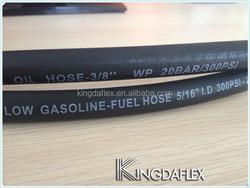 1/4 Inch I.D. J30R6 Reinforced Rubber Vacuum or Low Pressure Fuel Hose 25'