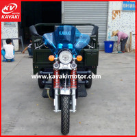 guangzhou KAVAKI BRAND 2015 best selling heavy load THREE wheel motorcycle trikes 200cc triciclo+motorizzato with cheap price
