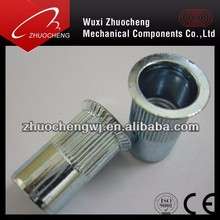 All sizes of Zinc plated Countersunk Head Rivet Nut With ISO Certification