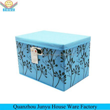 The most popular decorative cardboard foldable storage boxes with handled