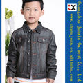 2013 nuevos muchachos de la llegada chaqueta de mezclilla de algodón al por mayor jean jacket (JXK31850)