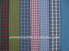 100% COTTON YARN DYED SHIRTING FABRIC 40X40/130X80 58/60'' CHINA MADE
