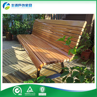 Patio Furniture outdoor bench seating Custom Outdoor Bench With Galvanized steel legs
