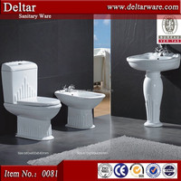 china two piece toilet pedestal , Bangladesh color wc toilet