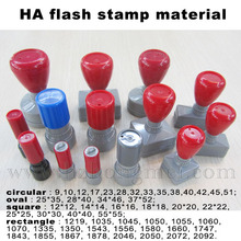 2015 Alibaba China Round shape HA flash stamp with flash foam wholesale/Popular office flash foam stamp