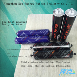rubber adhesive glue polyurethane sealant for car glass