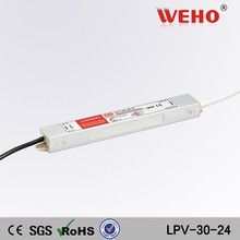 Whole Sale Ce Rohs Approved Led driver IP67 30w waterpoof power supply 24v
