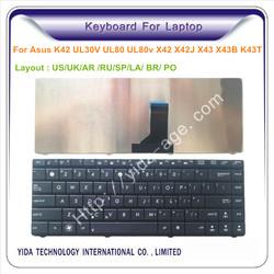 laptop with detachable keyboard for Asus K42 K43SV K43T N82