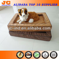Washable Dog Bed With Removable Cushion