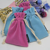Low Price Colorful Mini Velvet Drawstring Bag Pouch Jewelry Gift Bags Pouches